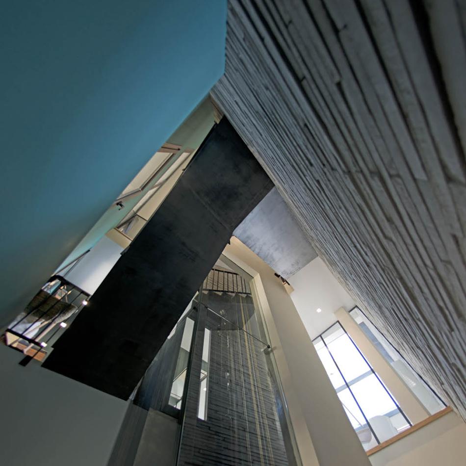 Villa «K» cage ascenseur