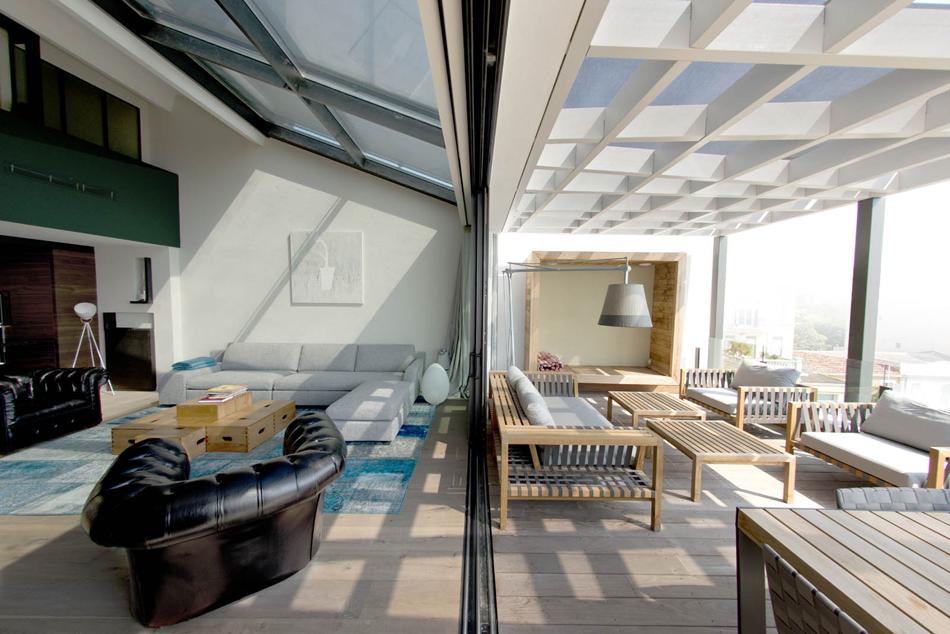 Villa «k» Salon – Terrasse
